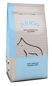 Arion Premium Puppy Sensitive Salmon & rice